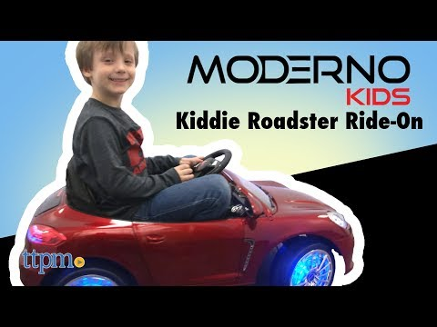 Kiddie Roadster 12V Electric Ride-On from Moderno Kids