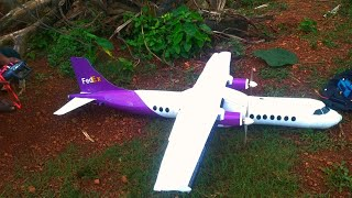 KERALA BIGGEST RC PLANE | വിമാനം ഉണ്ടാക്കി | ATR 72 600 THERMOCOL RC PLANE | HOMEMAD AIRPLANE