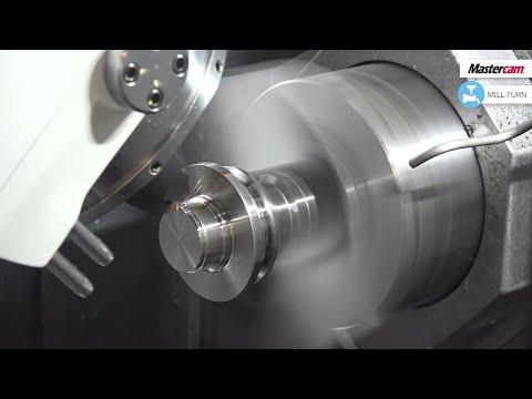 Neues Video: Mastercam 2020   Mill-Turn   MAZAK   CAD/CAM-Software
