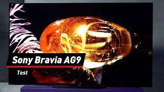 Sony Bravia AG9 im Test: Das Display als Klangkörper