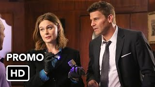 "Сериал Кости, Bones 11x07 Promo ""The Promise in the Palace"""