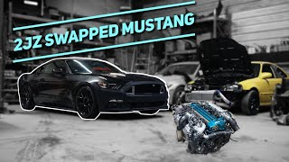 2JZ SWAPPED 2015 MUSTANG BUILD STARTS NOW! ( NEW DRIFT CAR?!)