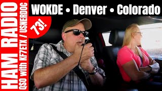 Mobile Ham Radio Contact  |  W0KDE •Denver • Colorado