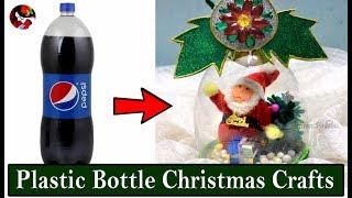 Plastic Bottle Christmas Crafts Creative Homemade DIY Christmas Gifts DIY Recycling Xmas Decor Ideas