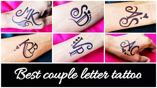 Requested Tattoos For My Subscribers | Best Combination Letter Tattoos