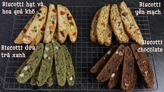 Biscotti recipe - 4 ways