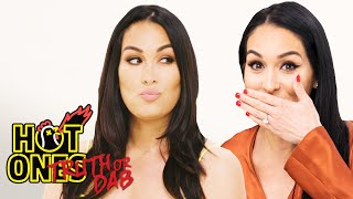 The Bella Twins Play Truth or Dab | Hot Ones