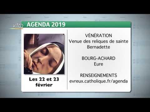 Agenda du 11 février 2019