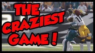 CRAZIEST GAME YOU WILL EVER SEE!! - Madden 16 Ultimate Team | MUT 16 PS4 Gameplay