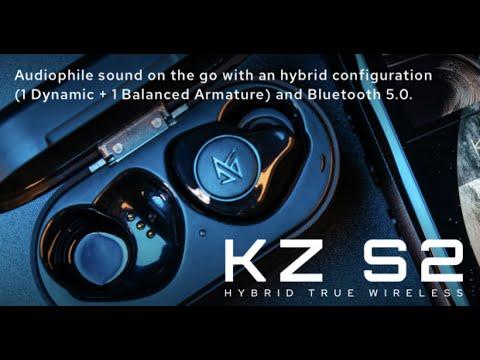 KZ S2: Next Generation Hybrid TWS In Ear Monitors-GadgetAny