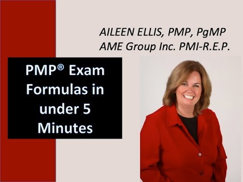 PMP Formulas in under 5 minutes for PMP Certification - YouTube