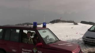 preview picture of video 'Gföhl snowkiten'