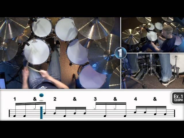 Intermediate 16th Note Linear Drum Fills