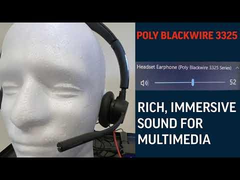 Poly Blackwire 3325 vs Jabra Evolve 30 II - Competitive Study