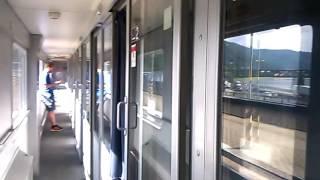 V lehátkovém voze DB ve vlaku CNL40447