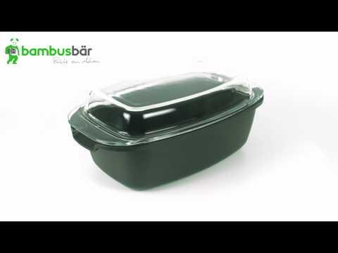 6 Liter Aluguss-Bräter 3D Ansicht