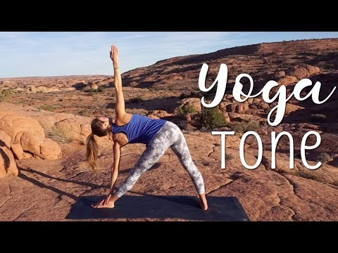 Yoga Tone Class (22 Minutes) ♥ Outdoor Yoga with Amanda
