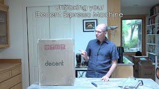 Unboxing The V1.3 Decent Espresso Machine