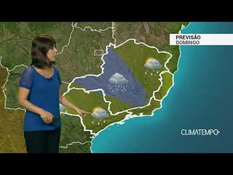 Previsão Sudeste - Muita chuva em Minas Gerais