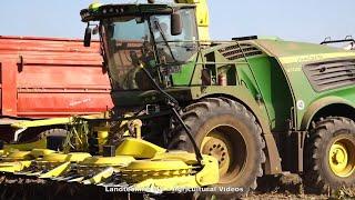John Deere -man - Fendt   Maissilage - Corn Silage  2020  Pt.1