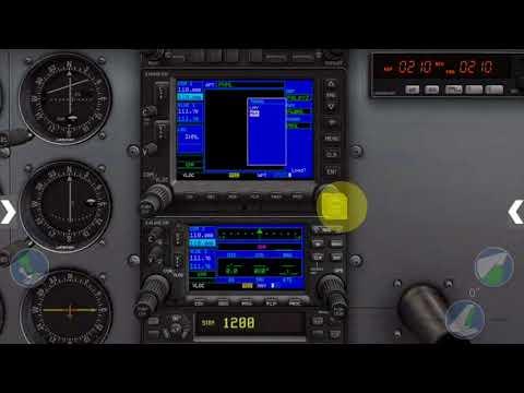 VNAV with G530 in X Plane 11 - смотреть онлайн на Hah Life