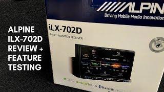 Walkthrough / Review Of The Alpine ilx-702D Multimedia Head-unit