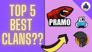 Top 5 Best Clans In The World - WOT Blitz