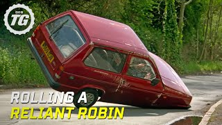 Rolling a Reliant Robin - Top Gear - BBC