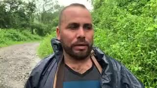 Dios lo salvó, su vehículo fue arrastrando por el río Belice en Siquinalá