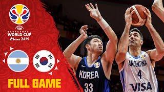 Argentina stun Korea to start the FIBAWC! - Full Game - FIBA Basketball World Cup 2019