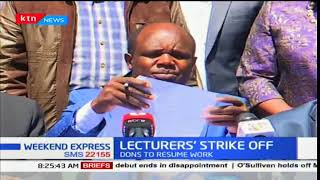 Public university lecturers call of the strike after successful negotiations with IPUCCF