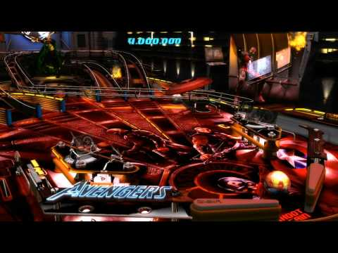 Video of Marvel Pinball