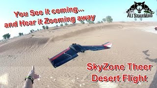 110 mph Skyzone Theer FPV Racing Wing Ultra Fast high Speed Flight
