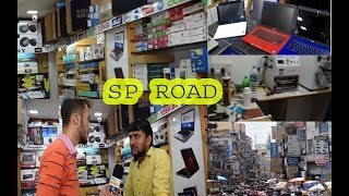 Biggest Electronic market   cheap place for Electronic Items in Bangalore India   exploring SP Road