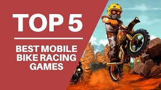 TOP 5 BEST BIKE RACING GAMES for iOS / Android | Best Motorbike Games