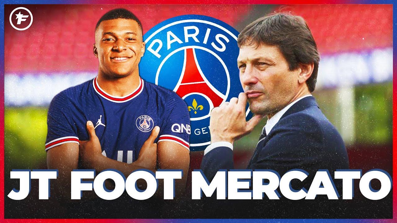Kylian Mbappé et Leonardo ont fait une annonce au vestiaire du PSG   JT Foot Mercato