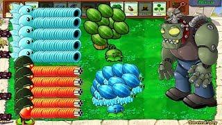 1 Giga-Gargantuar vs All Plants PvZ Plants vs Zombies