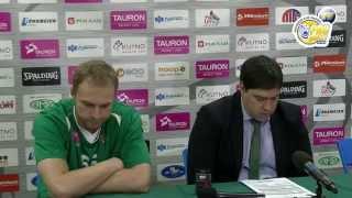 preview picture of video 'Konferencja pomeczowa Polfarmex Kutno - Stelmet Zielona Góra'