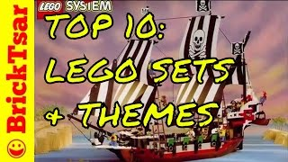TOP 10 Favorite LEGO Sets and Themes from the 90s #BAT10