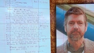 """Unabomber"" lashes out against brother in new letter"