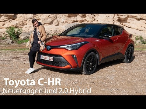 "2020 Toyota C-HR 2.0 Hybrid ""Orange Edition"" Test / Endlich mit Apple CarPlay :)  - Autophorie"