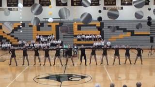 "Knoxville Dance Team Showcase 2017:  Varsity Kick ""Gimme Some Lovin"""
