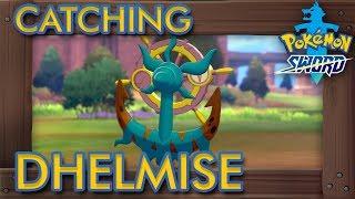 Dhelmise  - (Pokémon) - Pokémon Sword & Shield - How to Catch Dhelmise (1% Rarity Pokémon)