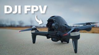 DJI FPV Drone | My First FPV Experience