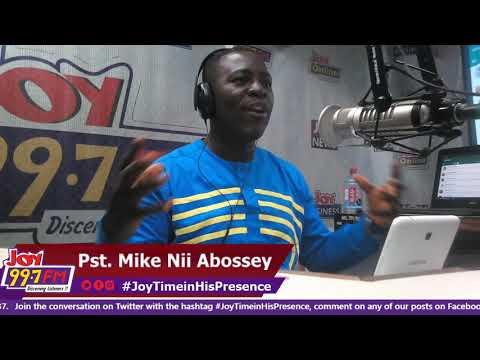Joy Time in His Presence on Joy FM (11-10-18)