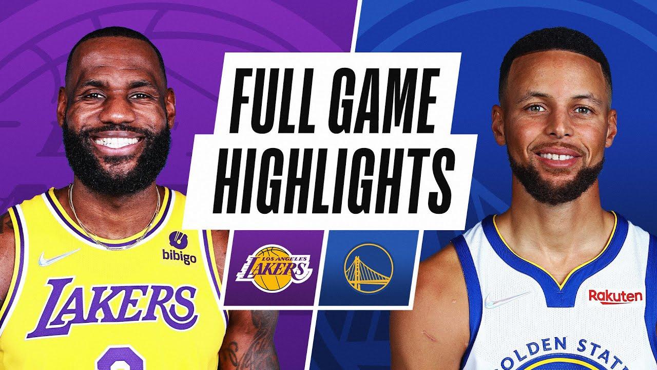 LAKERS at WARRIORS | NBA PRESEASON FULL GAME HIGHLIGHTS | October 8, 2021