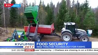 FOOD SECURITY! New tractor technology for farms