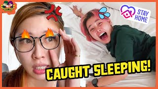 We Caught our Bosses Slacking!🤯 | Stuck At Home For 24 Hours Vlog📹