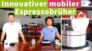 Mobiler Espresso - Innovativer Espressobrüher KTS 100