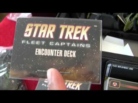 ST: Fleet Captains - Components overview + Romulan expansion